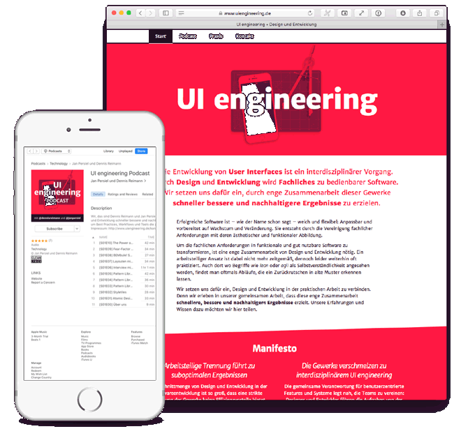 UIengineering Podcast und Website